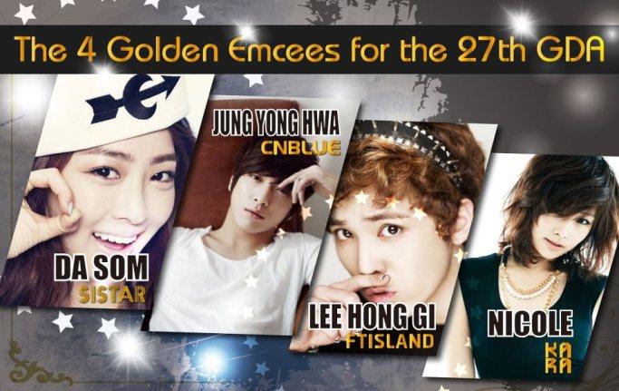 Golden Disk Awards 2012 Confirmed Emcees (1)